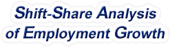 Shift-Share Analysis of Wisconsin Employment Growth and Shift Share Analysis Tools for Wisconsin