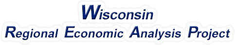 Wisconsin Regional Economic Analysis Project